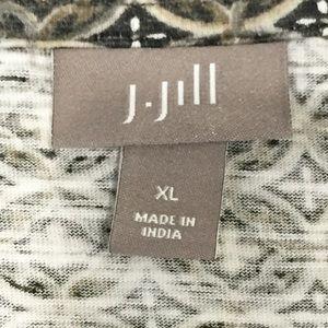 J. Jill Tops - J.JILL pullover blouse, pin-tucks at center front